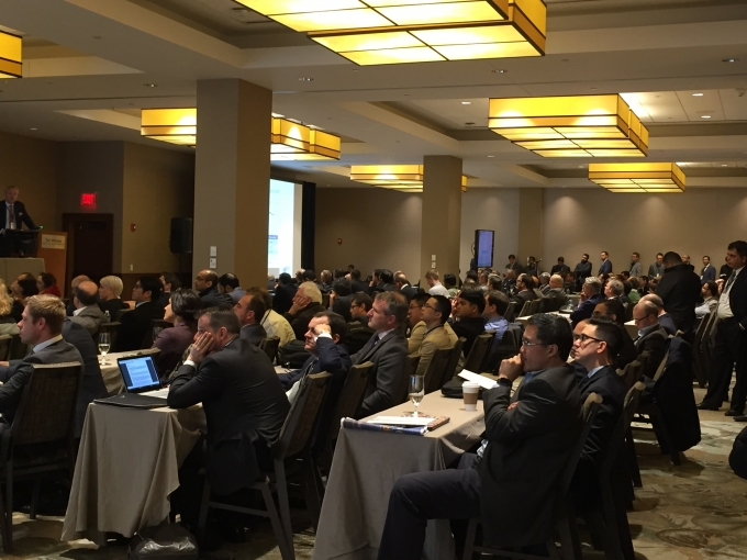 Dr. Lee drew in a large audience during the 2017 American Urological Association Course on Renal Cell Carcinoma in Boston, MA